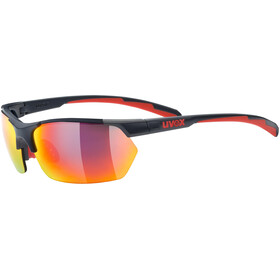UVEX Sportstyle 114 Lunettes de sport, grey red/red